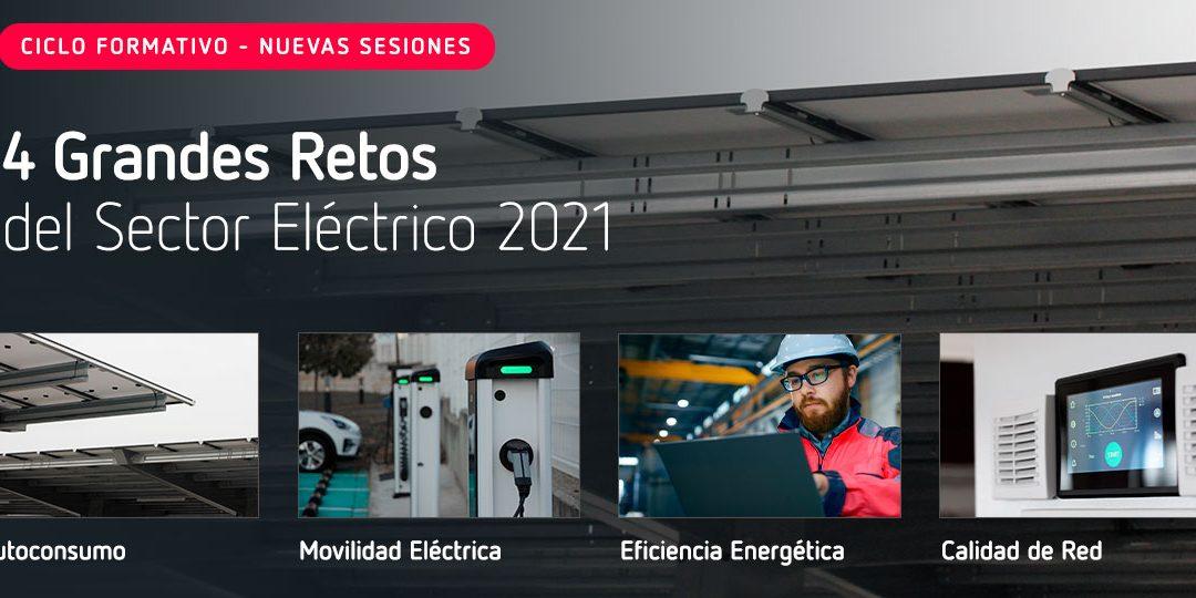 """CIRCUTOR – Nuevas sesiones del ciclo formativo """"4 grandes retos del 2021"""""""