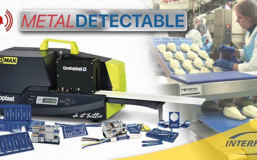 INTERFLEX presenta la nueva gama de marcaje detectable de Grafoplast.