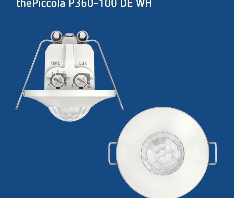 GUIJARRO – thePiccola el detector de movimiento y presencia mini para el montaje en techo de Theben