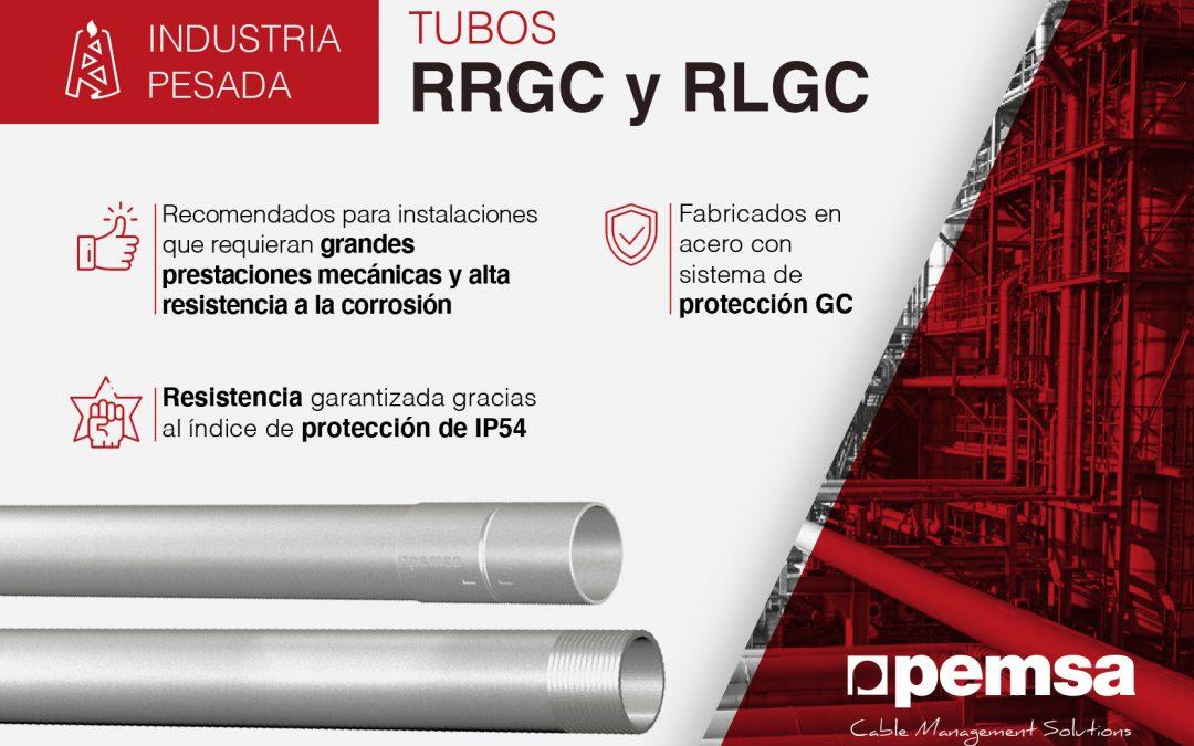 PEMSA – Sistema de tubos RRGC y RLGC para edificación, sector terciario e industria pesada con altos requisitos de seguridad